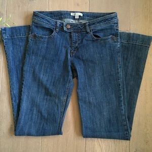 CAbi Dark Washed Boot Cut Jeans Size 6